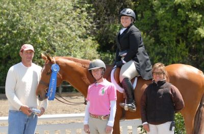 Chelsea Samuels and Brooklyn Winner Adult Hunter Classic 2011 Blenheim Spring Classic