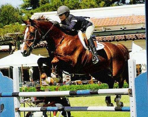 Lucy Davis and Mister Mind Best Child Rider 2006 Portuguese Bend National and Menlo Winner $10,000 Sea Horse Jumper Classic 2006 Portuguese Bend National Photo JumpShot