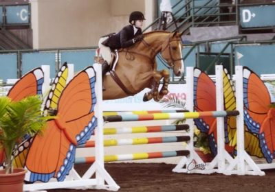 Lucy Davis Shalanno Farms Style of Riding Award 2009 Del Mar National Photo Osteen