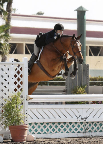 Montana Coady and Winnetoe Champion Amateur Owner Hunter 18-35 2013 Del Mar National Photo Osteen