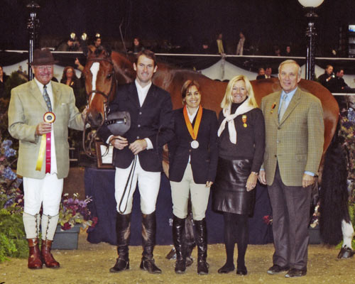 Overseas owned by Laura Wasserman Reserve Champion Regular Working Hunter 2009 National Horse Show