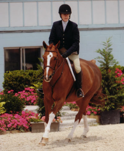Polly Sweeney and Duet Amateur/Owner Hunter 36 & Over 2012 Devon Horse Show Photo the Book LLC