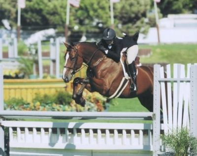 Ashley Pryde and Perfection 2007 Oaks Blenheim Small Junior Hunters 15 and Under Photo by JumpShot