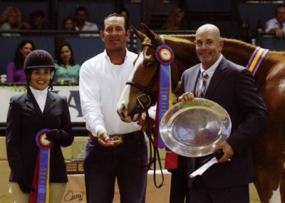 Ecole Lathorp and Banderas Champion High Performance Hunter 2014 Del Mar National Photo Osteen