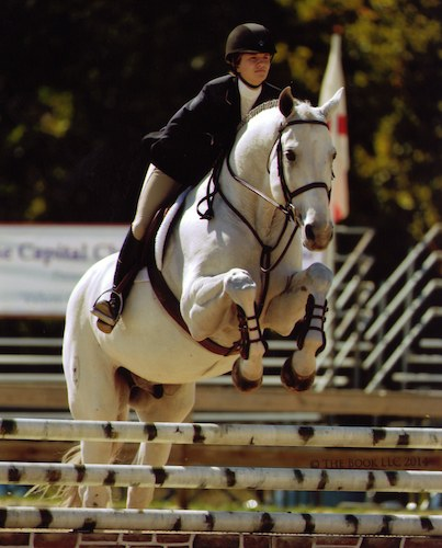 Hunter Siebel and C Coast Z Taylor Harris Medal Finals 2014 Capital Challenge Photo by The Book LLC