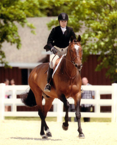 Joan Hasteltine and Biltmore Low Amateur/Owner Hunter 36 & Over 2012 Devon Horse Show Photo The Book LLC