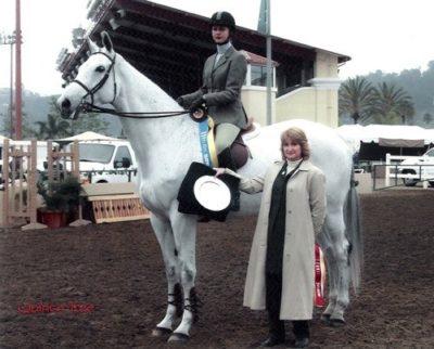 Marissa Banks ASPCA Medal Maclay 2002 Del Mar National Photo Ed Moore