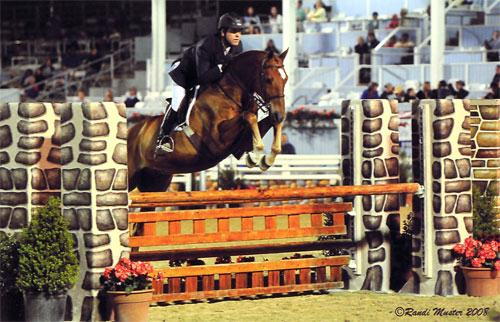 Peter Lombardo and Mandarin 2008 Devon Horse Show Photo Randi Muster