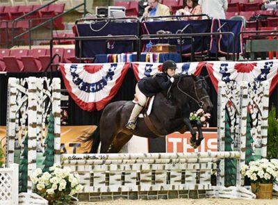 Stella Wasserman and Trillville WCHR Pony Hunter Challenge Champion 2016 Capital Challenge Photo by Shawn McMillen