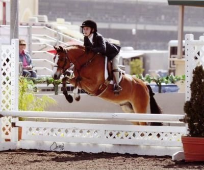 Wylie Nelson and Rainbow Canyon Small Pony Hunters 2011 Del Mar National Photo Osteen