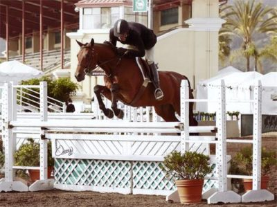 Archie Cox and Granted 2008 Del Mar National Photo Osteen