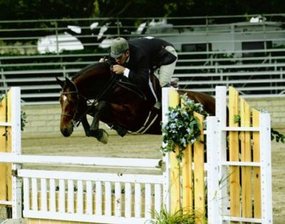 Archie Cox and Times Square 2005 Los Angeles Equestrian Center