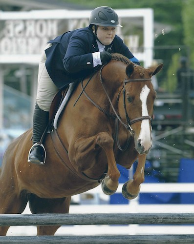 Chelsea Samuels and Adele 2014 Devon Horse Show Photo The Book LLC