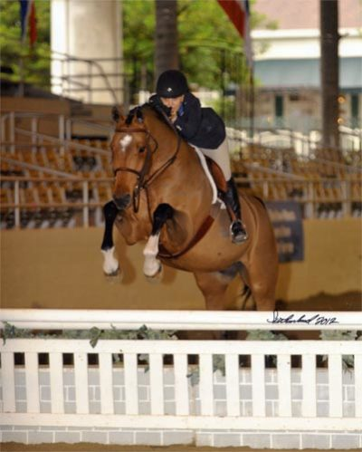 Laura Wasserman and Back in the Game 2012 Los Angeles Season Opener Photo Flying Horse