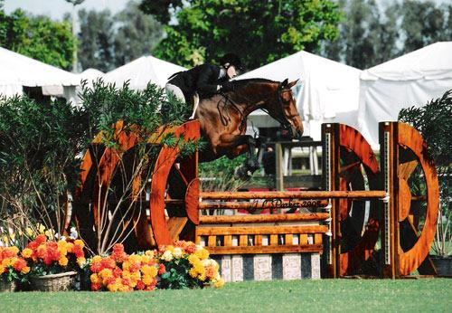 Hannah Hale and New Hope Qualified for Devon Washington International and Metropolitan National in 2002 Photo JL Parker