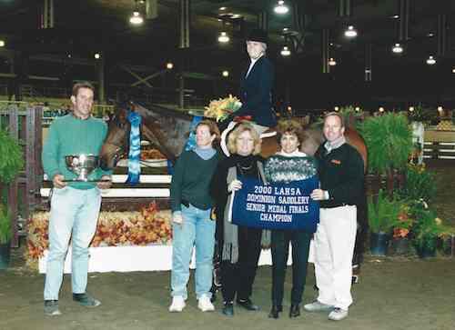 Karin Binz Dominion Saddlery Senior Medal Finals Champion 2000 Los Angeles Equestrian Center