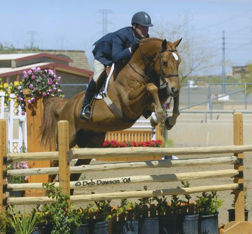 Peter Lombardo and Mandarin Champion Regular Conformation 2008 Scottsdale Spring Classic Photo Deb Dawson