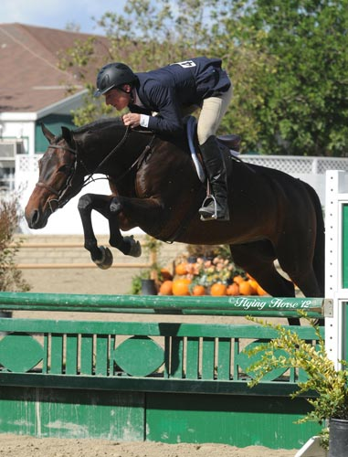 Richard Boh and Kingsley Amateur Owner Hunter 2012 LA Preview Photo Flying Horse