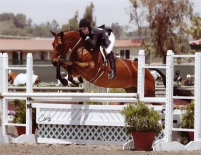 Shelby Wakeman and My Cap 2008 Del Mar National Photo Osteen