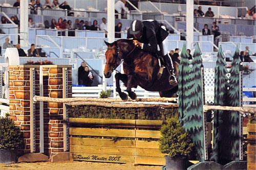Archie Cox and White Oak USHJA Derby 2008 Devon Horse Show Photo Randi Muster