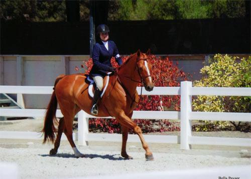 Lily Blavin and Sander Childrens Hunter 14-17 2012 Menlo Charity Horse Show Photo Bella Peyser