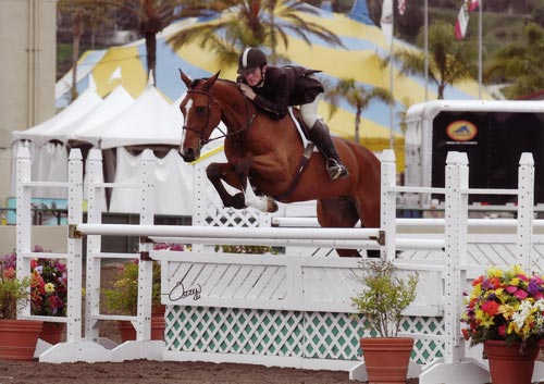 Richard Boh and Mittler owned by Archie Cox High Performance Hunter 2012 Del Mar National Photo Osteen