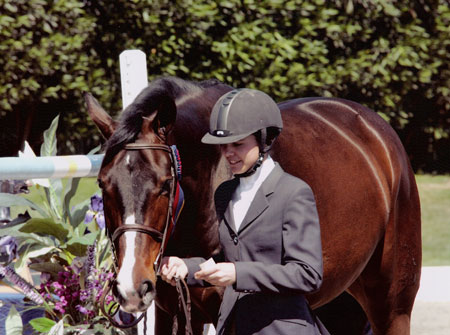 Stephanie Danhakl and Bellingham Bay National Horse Show