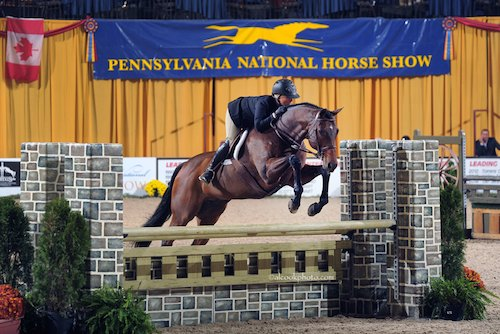Virginia Fout and Classified Amateur Owner Hunter 2015 Pennsylvania National Photo Al Cook