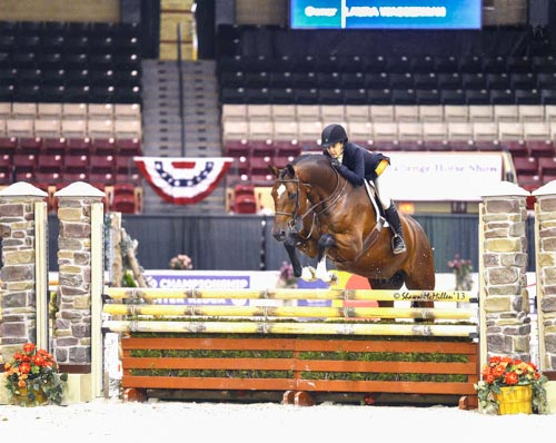 Laura Wasserman and Back in the Game Amateur Owner Hunter 36 & Over 2013 Capital Challenge Photo by Shawn McMillen