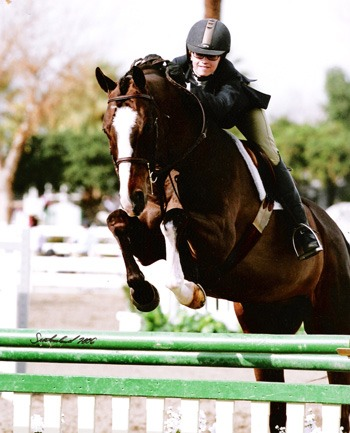 Lucy Davis and Clockwork 2006 Zone 10 Reserve Champion Small Junior Hunters 15 and Under Photo Flying Horse