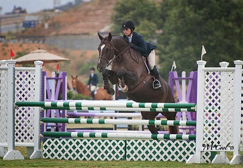 Sarah Jane Haskins and Vigo 2013 Blenheim Photo Amy McCool