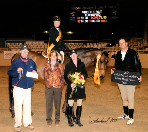 Virginia Fout and Classified LA County Medal Finals 2012 LA Preview Photo Flying Horse