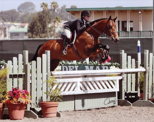 Ashley Pryde and Chaucer Equitation Winner High Point Rider 2010 Del Mar National Photo Osteen