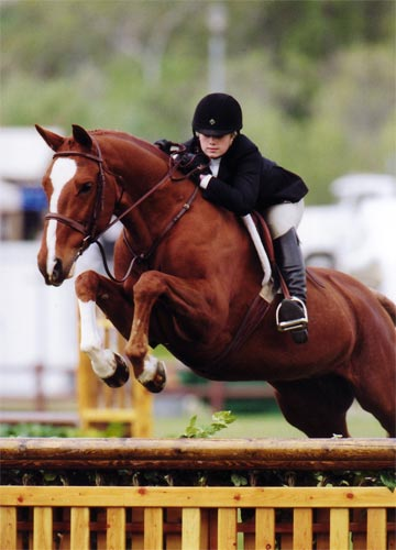 Ashley Pryde and Wesley Oaks Blenheim 2008 Photo Cathrin Cammett