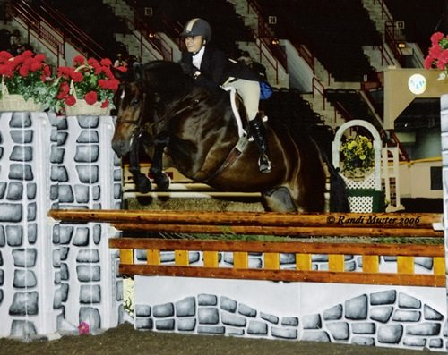 Laura Wasserman and Quality Time 2006 Zone 10 Champion Amateur Owner Hunters 36 and Over Photo Randi Muster