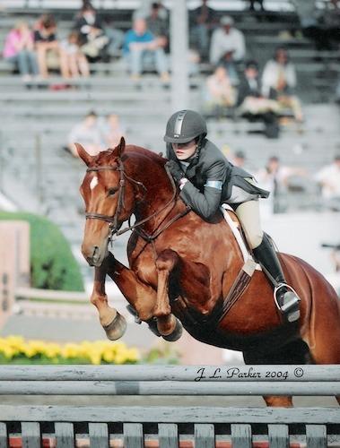 Stephanie Danhakl and Lifetime 2004 Devon Horse Show Photo JL Parker
