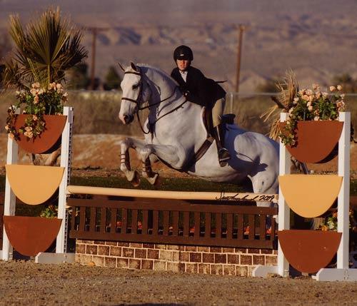 Sybil Rose Champion Equitation 16-17 2009 HITS Desert Circuit Photo Flying Horse