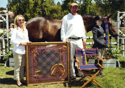 Ashley Pryde and Truly Grand Champion A/O Hunter Best Amateur Rider 2012 Menlo Charity Photo JumpShot