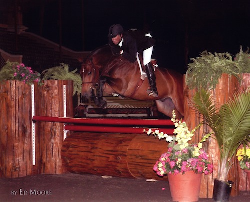 Laura Wasserman's Quality Time ridden by Archie Cox 2006 Del Mar National Photo Ed Moore