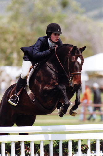 Saer Coulter and Smitten Oaks Blenheim 2008 Photo Cathrin Cammett