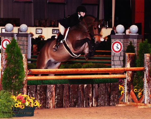 Ashley Pryde and Truly Large Junior Hunters 125th National Horse Show at Syracuse Invitational 2008 Photo Reflections