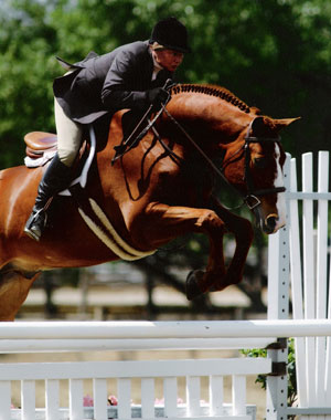 Jane Fraze and Archie Adult Amateur Hunters 2004 Showpark Photo JumpShot