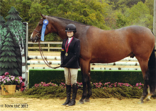 Lily Blavin and Montague Childrens Hunter 12–14 2012 Capital Challenge Photo The Book LLC