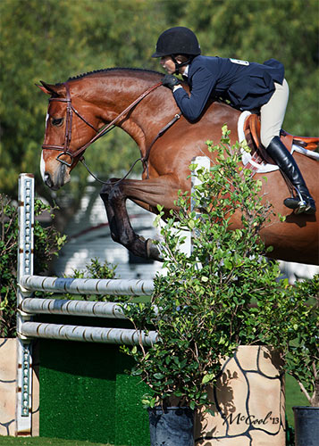 Lily Blavin and Montague Large Junior Hunter 15 and Under 2013 Blenheim Spring Photo Amy McCool