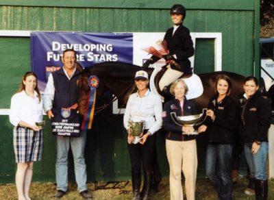 Demi Steigler Champion USET Finals 2011 LA International Photo Flying Horse