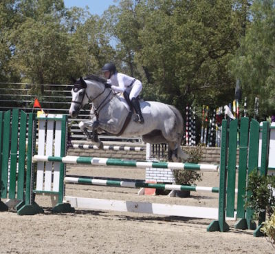 Diana Simonds and Cabernet Childrens Jumpers 2015 Los Angeles Equestrian Center