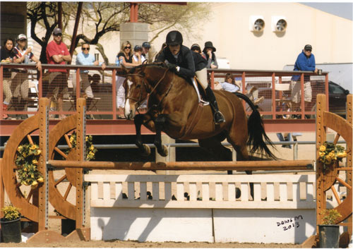 Lily Blavin and Montague 2013 Scottsdale Spring Classic Photo Deb Dawson