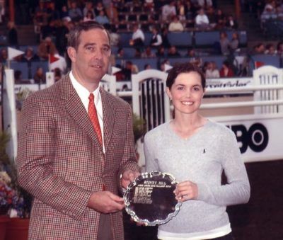 Stephanie Danhakl Winner Stoney Hill Trophy High Point Junior Rider 2005 Del Mar National Photo Ed Moore
