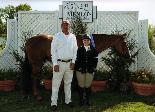Chelsea Samuels and Adele 2012 Menlo Charity Photo JumpShot
