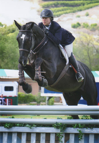 Virginia Fout and Vendetta 2013 Blenheim Spring Photo by Amy McCool